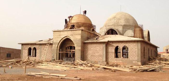 Hüdayi Vakfı Burkina Faso'da 'istanbul Camii' İnşa Etti