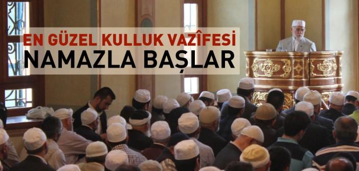 Aziz Mahmud Hüdâyi Camii Açıldı