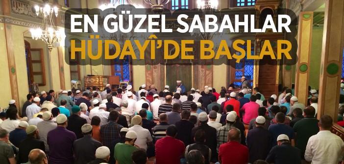 Ramazan'da Hüdayi Camii 24 Saat Açık