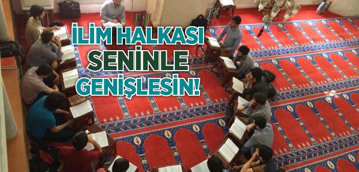 SUFFE MECLİSİ'NDE İLİM HALKASI KURULUYOR