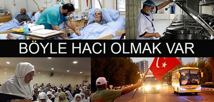 Türkiye'den Giden Hacılara 5 Bin Görevli Hizmet Veriyor