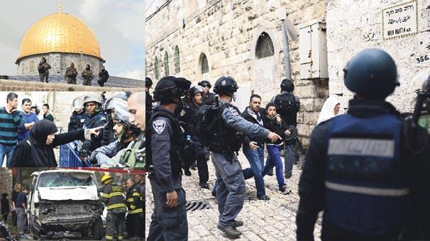 israil-polisi-mescid-i-aksa-ya-girdi-4946281