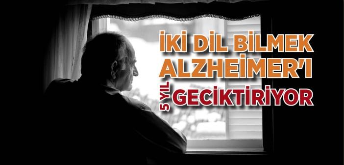 İki Dil Bilmek Alzheimer'ı Beş Yılk Geciktiriyor