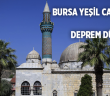 Bursa Yeşil Camii'nde Deprem Etkisi Teraziyle Ölçülüyor