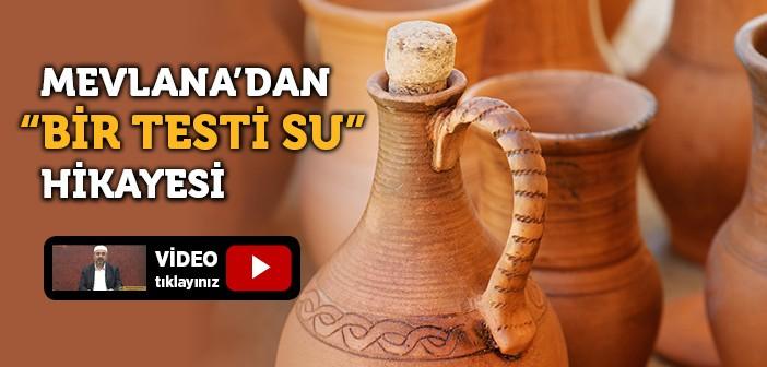 BİR TESTİ SU