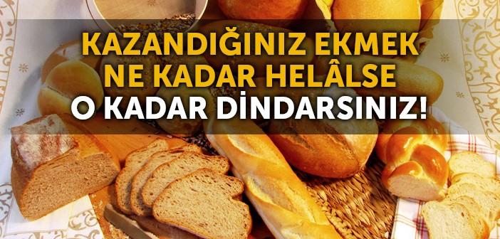 HELÂL KAZANCIN EHEMMİYETİ