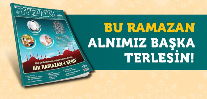 YÜZAKI İLE RAMAZÂN'DAN NASİPLENİN!