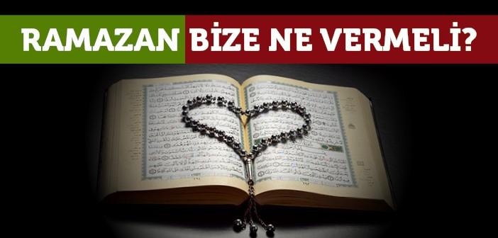 Ramazan'da Yaşayacağımız Değişim!