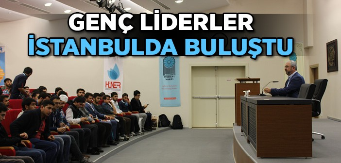 Genç Liderler İstanbulda Buluştu