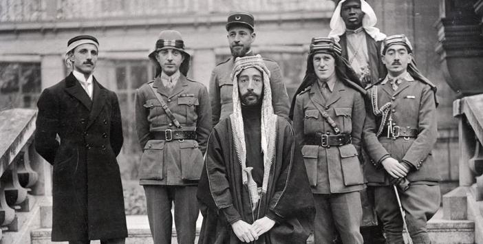 Emir Faysal ve Lawrence