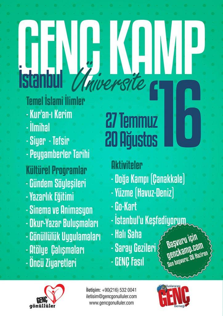 UNİVERSİTE-Genç-Kamp