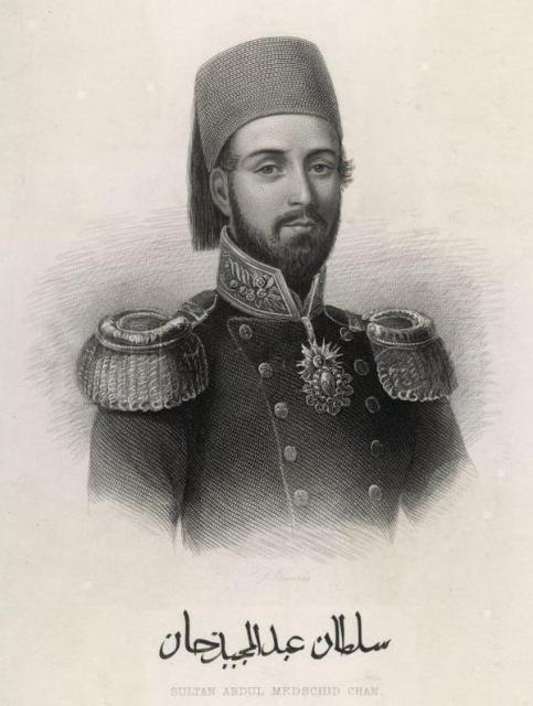 1845 yılında İrlanda`daki kıtlık sebebiyle İrlanda`ya yardım edilmesi ve İrlanda`dan Osmanlı Sultanı`na şükran mektubu