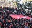 Bingöl'de Şehitlere Saygı ve Milli Birlik Yürüyüşü