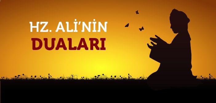 Hz. Ali'nin (r.a.) Duaları