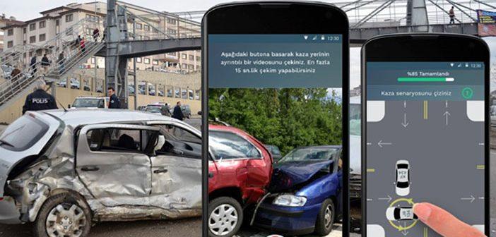 Egm'den Mobil Kaza Tutanağı Uygulaması