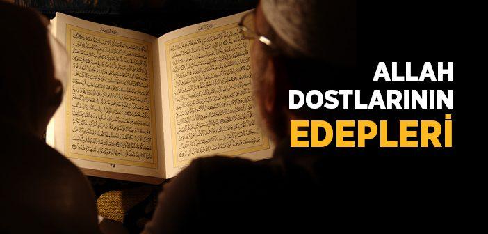 Kibar-ı Ehlullah'ın Edepleri