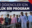 LİSELİ GENÇLERE ÖZEL 'ŞAHSİYET AKADEMİSİ' BAŞLIYOR!