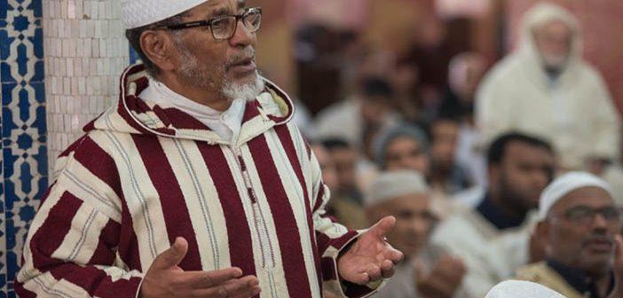 Fas'ta Camilerde Yağmur Duası Yapıldı