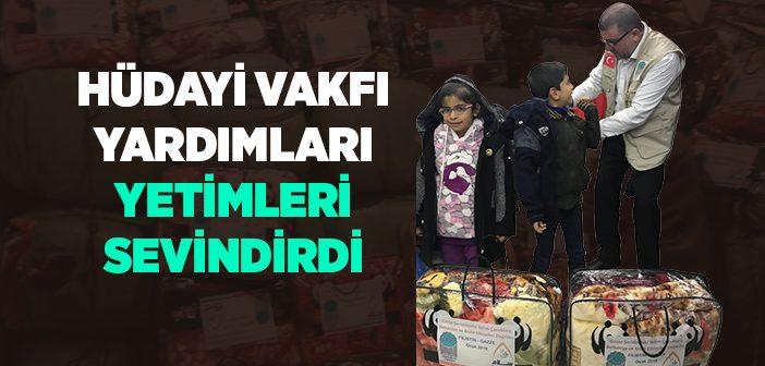HÜDAYİ VAKFI'NDAN GAZZE'YE KIŞ YARDIMLARI