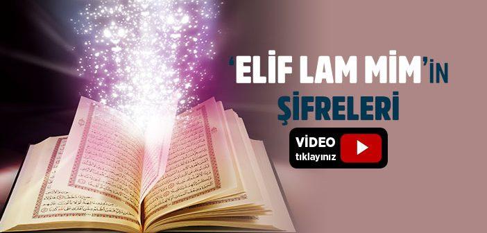 Elif lam mim suresi
