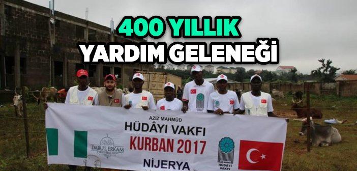 400 YILLIK YARDIM GELENEĞİ DEVAM EDİYOR