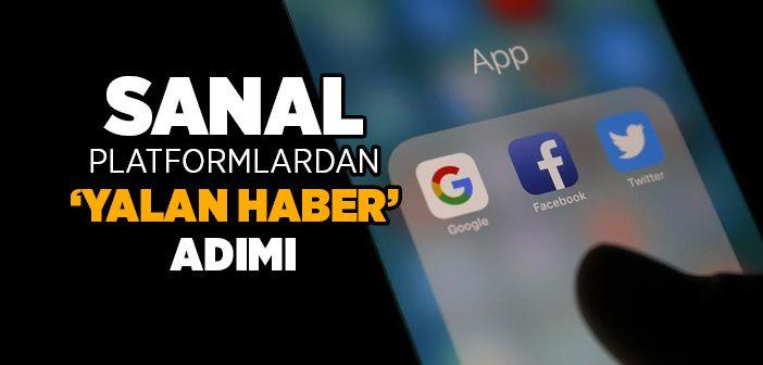 SANAL PLATFORMLARDAN YALAN HABER ADIMI