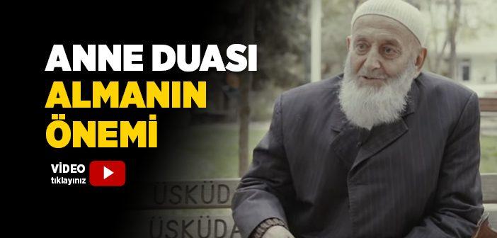 ANNE DUASI ALMANIN ÖNEMİ