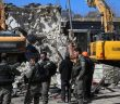 İsrail Doğu Kudüs'te Filistinlilere Ait Binayı Yıktı