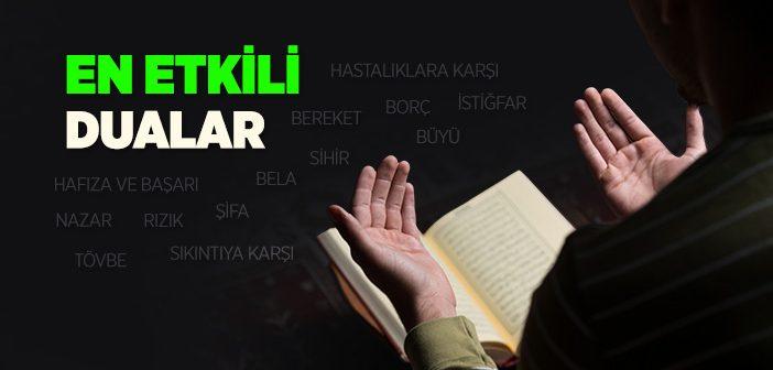 En Etkili Dualar Nelerdir?