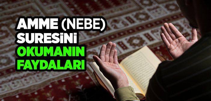 Amme Suresi Arapça Türkçe Okunuşu ve Meali