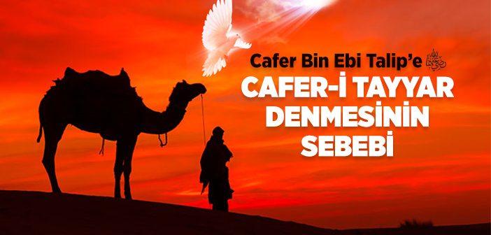 CAFERİ TAYYAR'IN (R.A) ŞEHADETİ