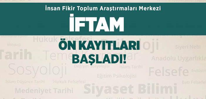 İFTAM KAYITLARI BAŞLADI!