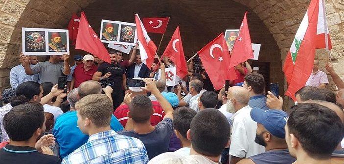 LÜBNAN CUMHURBAŞKANI AVN'IN OSMANLI AÇIKLAMASI PROTESTO EDİLDİ