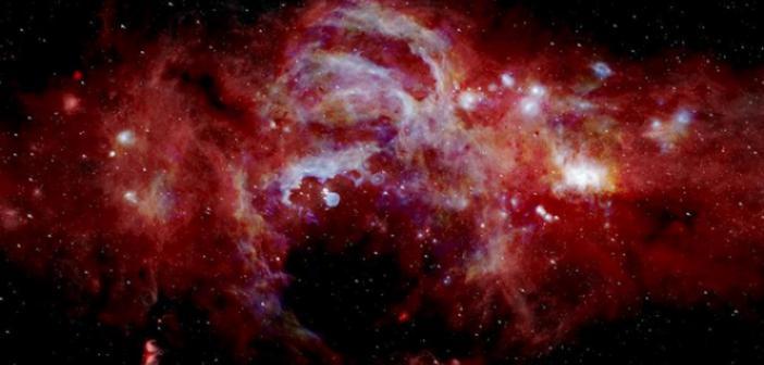 NASA SAMANYOLU GALAKSİSİ'NİN MERKEZİNİ GÖRÜNTÜLEDİ
