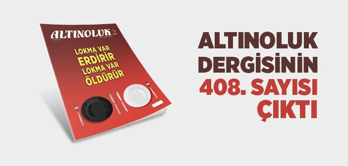 ALTINOLUK DERGİSİNİN ŞUBAT 2020 SAYISI ÇIKTI!