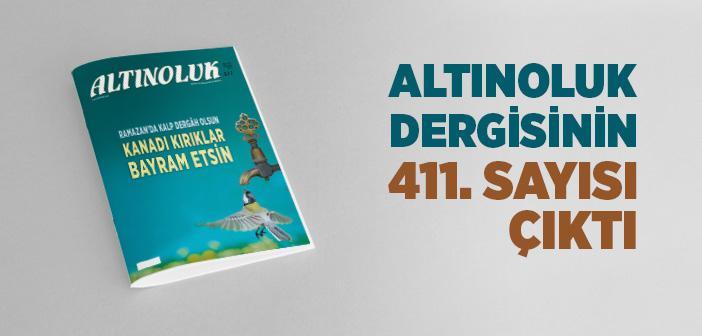 ALTINOLUK DERGİSİNİN MAYIS 2020 SAYISI ÇIKTI!
