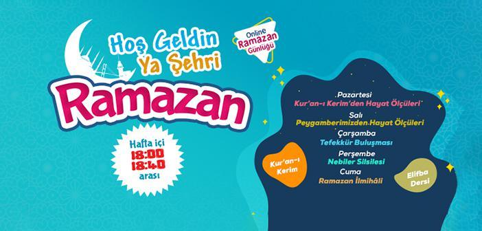 Online Değer Halkaları Ramazan Programı Başlıyor