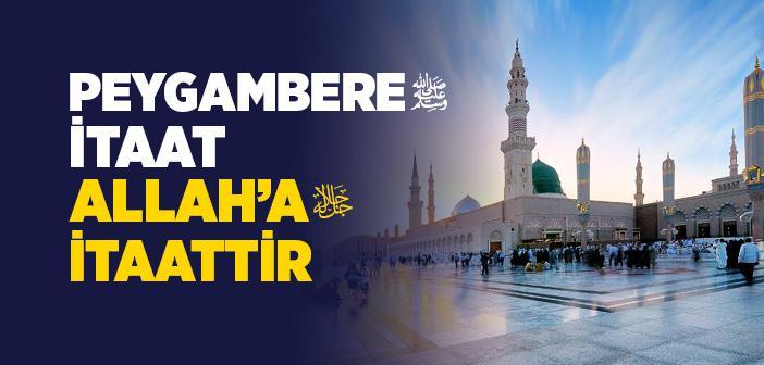 ALLAH RESÛLÜ'NE MUHABBETLE İLGİLİ ÖRNEKLER