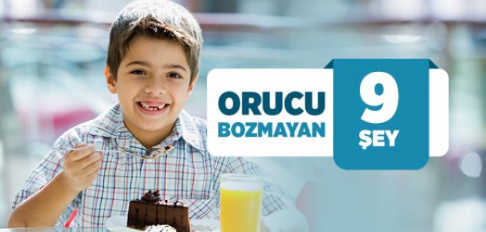 ORUCU BOZMAYAN ŞEYLER