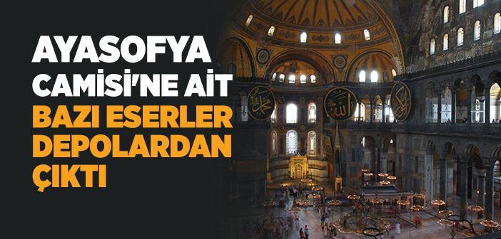 Ayasofya Camiî'ndeki Tarihi Eserler Nerede?