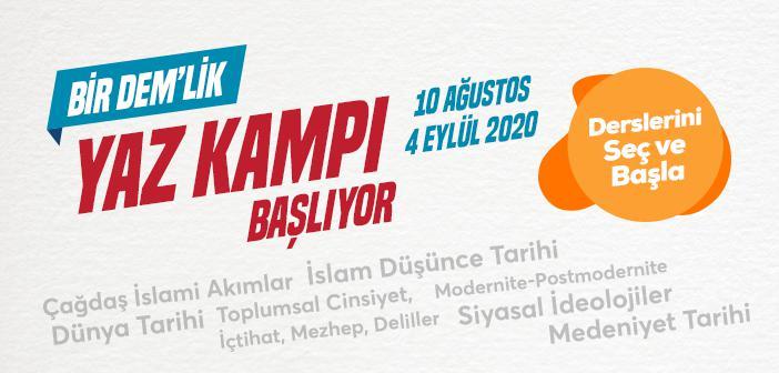HÜNER 2020 BİR DEM'LİK YAZ KAMPI BAŞVURULARI BAŞLADI!