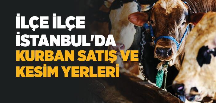 İstanbul Kurban Satış ve Kesim Yerleri 2020