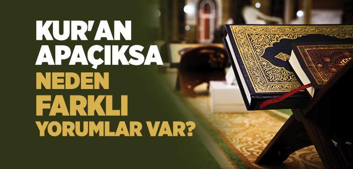 Kur'an Apaçık mıdır?