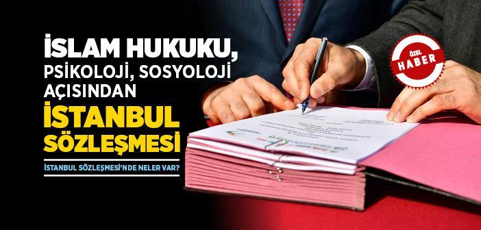 İstanbul Sözleşmesi'nde Neler Var?