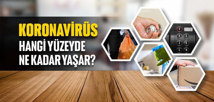 Koronavirüs Hangi Yüzeylerde Ne Kadar Canlı Kalıyor?