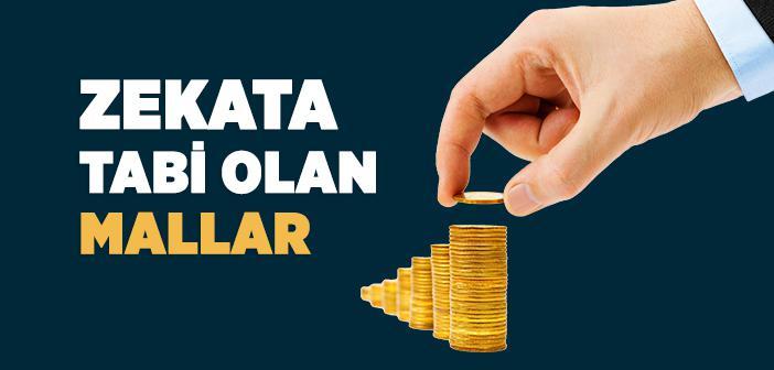 Zekata Tabi Olan Mallar