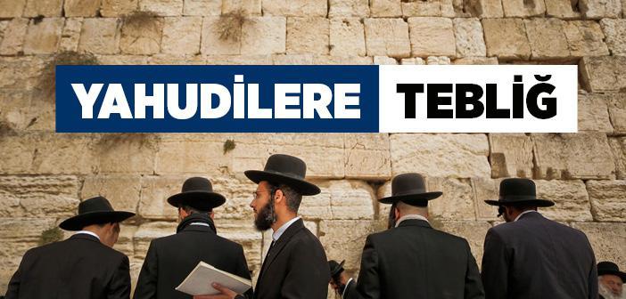 Peygamberimizin (s.a.v) Yahudilere Tebliği