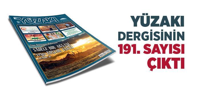 Yüzakı Dergisinin Ocak 2021 Sayısı Çıktı