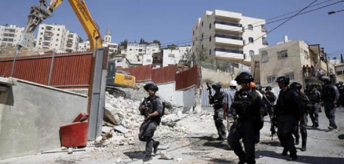 İsrail Güçleri Mescid-İ Aksa Koruma Müdürü'nün Kudüs'teki Evini Yıktı