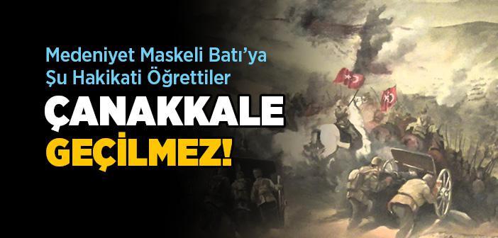 Öğretmen Ahmet Rıfkı ve Çanakkale Destanı